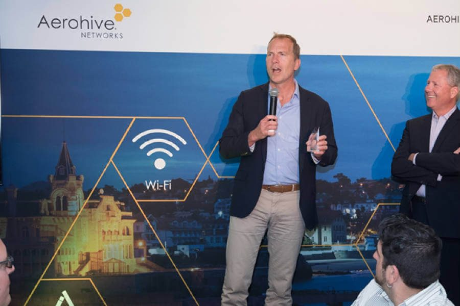 AIT WINS AEROHIVE RESELLER OF YEAR 2016